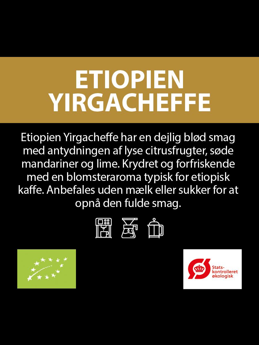 Økologisk Ethiopia Yirgacheffe Gr.2 (Abonnement)