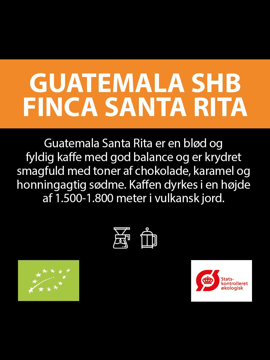 Økologisk Guatemala SHB Finca Santa Rita (Abonnement)